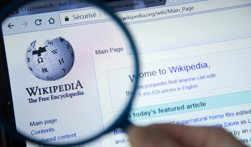 Wikipedia Blockchain